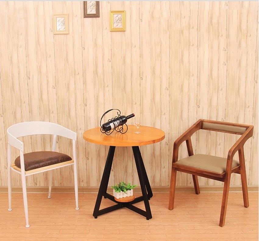 Theo dòng xu hướng với mẫu bàn ghế gỗ tròn cho quán cafe